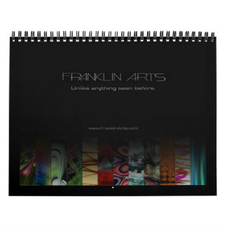 2010 Franklin Arts Abstract Art Calendar