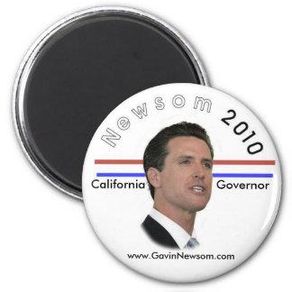 2010 Gavin Newsom magnet