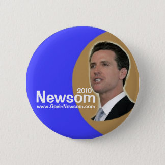 2010 Gavin Newsom pin