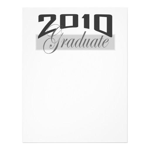 2010 Graduate Personalized Letterhead