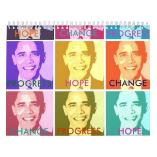 2010 HOPE & CHANGE CALENDAR