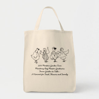 2010 Masters Garden Tour Grocery Tote Bag