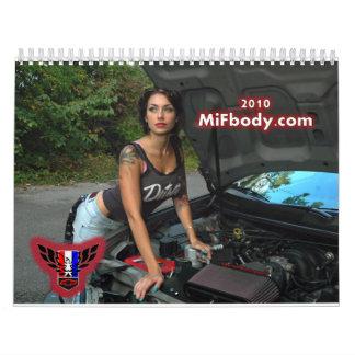 2010 MiFbody.com Calendar