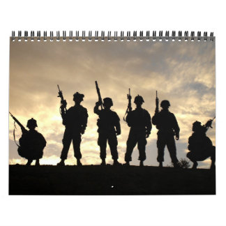 2010 Military Silhouettes Calendar