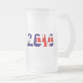2010 oz flag of Australia gifts 16 Oz Frosted Glass Beer Mug