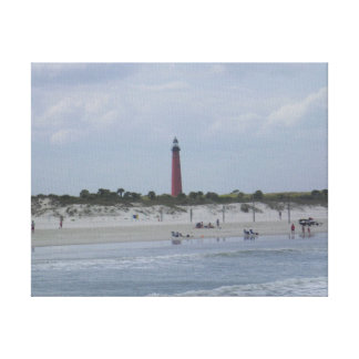 2010 Ponce Inlet Lighthouse, Florida Canvas Print