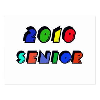 2010 SENIOR POSTCARD