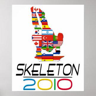 2010: Skeleton Poster