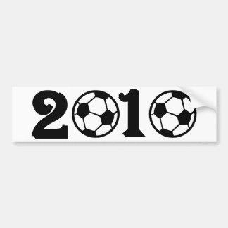 2010 Soccer Football World Cup Bumper Sticker