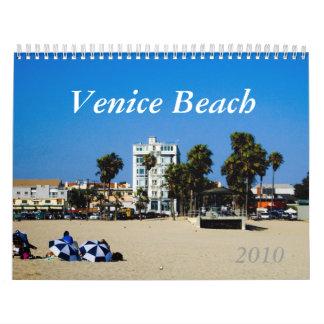2010 Venice Beach Calendar