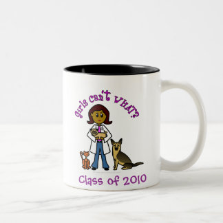 2010 Veterinarian Two-Tone Coffee Mug