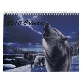 2010 Wolf Calendar
