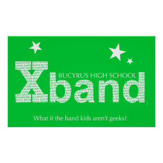 2010 Xband Poster (Lime Green)