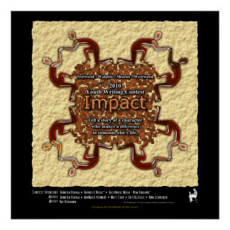 2010 Youth Writing Contest - Impact Poster