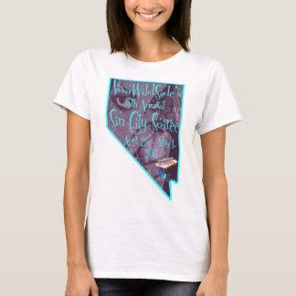"""2011 5th Annual Sin City Soiree """"Nevada"""" Logo T-Shirt"""