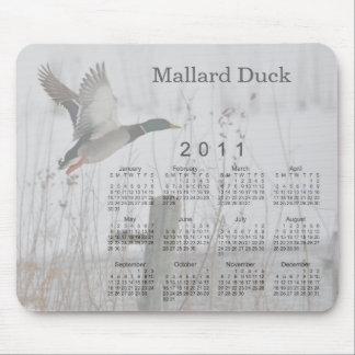 2011 Bird Calendar Mouse Pad