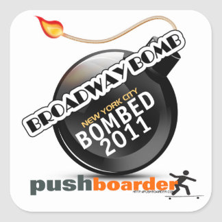 2011 Broadway Bomb Sticker