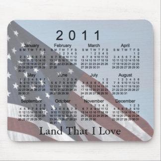 2011 Calendar Mouse Pad