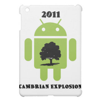 2011 Cambrian Explosion (Android Bug Droid) iPad Mini Cover