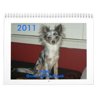 2011 Chihuahua Calander Calendars