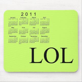 2011 Desk Calendar Mouse Pad
