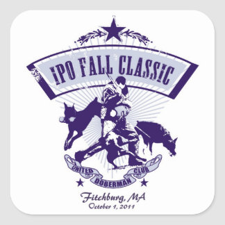 2011 Fall IPO Classic Sticker