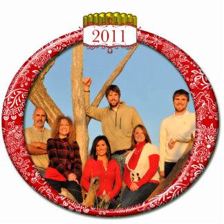 2011 Family Couples Kids Photo Christmas Ornament Photo Sculpture Ornament