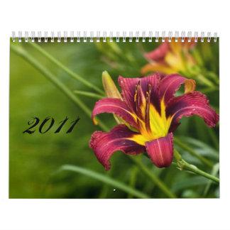2011 Flora Wall Calendar