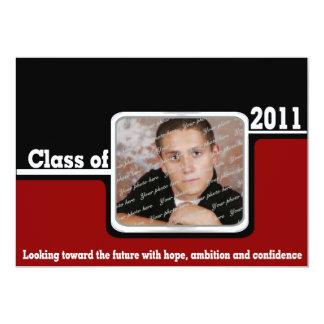 2011 Graduation Photo/ Red Card