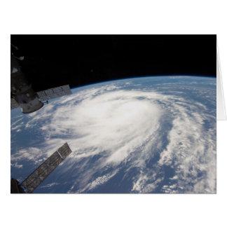 2011 Hurricane Katia From Space Card