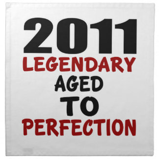 2011 LEGENDARY AGED TO PERFECTION NAPKIN