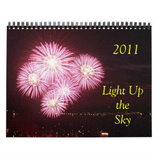 2011 Light Up the Sky Wall Calendars