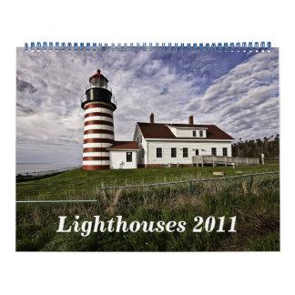 2011 Lighthouses Calendars
