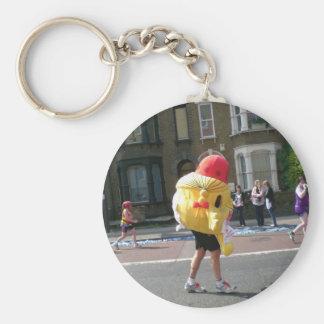 2011 Marathon in London Basic Round Button Keychain