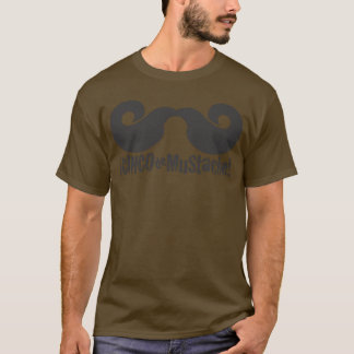 2011 Men's Big Stache - Dark Shirt