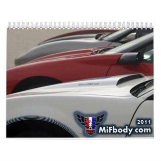 2011 MiFbody.com Member Calendar