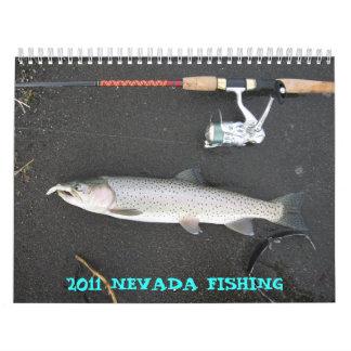 2011 NEVADA FISHING CALENDARS