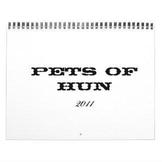 2011 Pets of Hun Wall Calendars