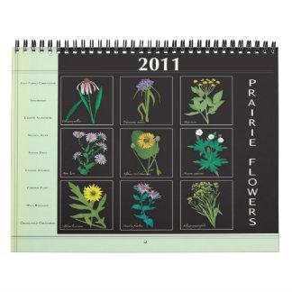2011 Prairie Wildflowers Calendar