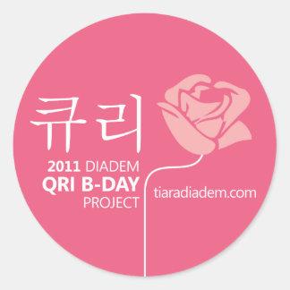 2011 Qri Birthday Sticker