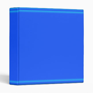 2011 Rich Dark Blue Glow Strip 3 Ring Binder