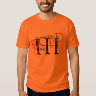 2011 Rockin' Cool Badass Day Orange T-Shirt