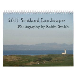 2011 Scotland Landscapes Calendars
