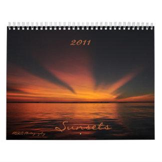 2011 Sunset Calendar
