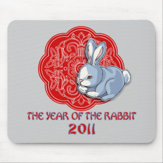 2011 The Year of the Rabbit Gifts Mousepad