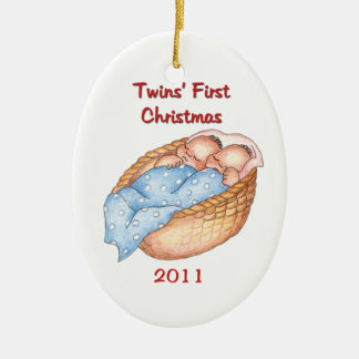 2011 Twins FIrst Christmas Ornament