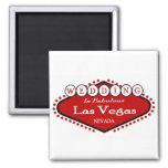 2011 Wedding in Las Vegas Magnet