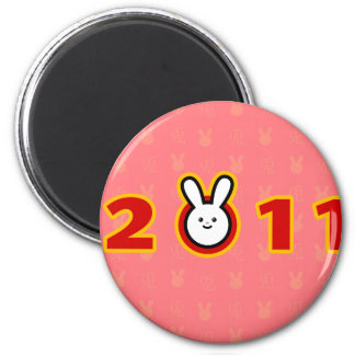 2011: Year of the Rabbit Magnet