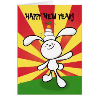 2011: Year of the Rabbit: Mochi Balance! Card