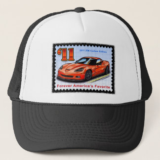 2011 Z06 Carbon Edition Corvette Trucker Hat